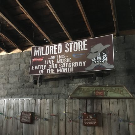 The former repair shop is now home to live country western music every third Saturday night